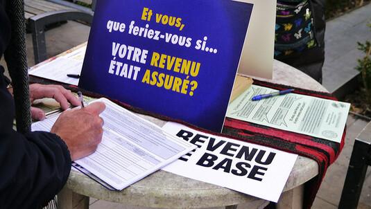 VERS UN REVENU DE BASE EN FRANCE ?