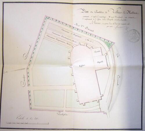 Le cimetière de Villiers