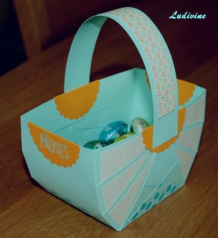 """Avec la pochette """"Plaisir de créer - Pâques""""... : déco -1"""