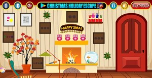 Jouer à Christmas happy room escape