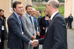 Au congrès des maires, le 30 septembre dernier, à Châteaudun, visite de Monsieur Blanquier, ministre de l'Education nationale