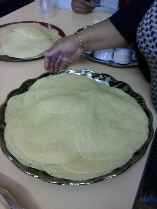 la recettes des Baghrirs crêpes marocaines aux milles trous