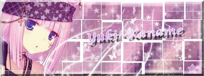 Mes creation pour le concour de Yuki-Kaname