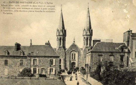 L'église de Bain-de-Bretagne (Ille-et-Vilaine)