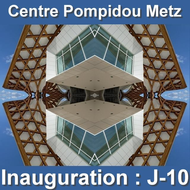 Inauguration du Centre Pompidou Metz mai 1 02 05 2010