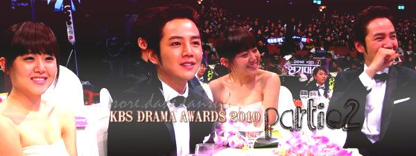 _______KBS DRAMA AWARDS 2010 _______(2eme) PROJET TERMINÉ, INITIALEMENT PROJET SURPRISE