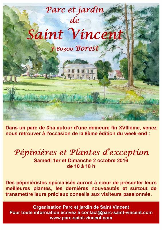 Pépinières et plantes d'exception à Borest : J-8...