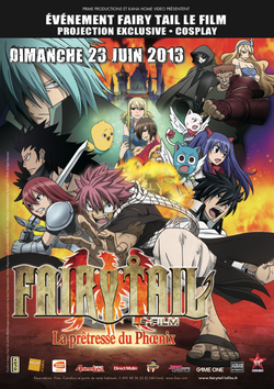 Affiche de l'évènement Fairy Tail