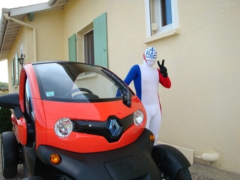 Capitaine France et Twizy