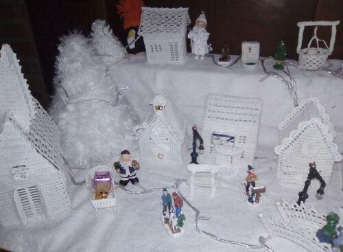 La déco de Noël de Carole.D,Kheira et Marlyse