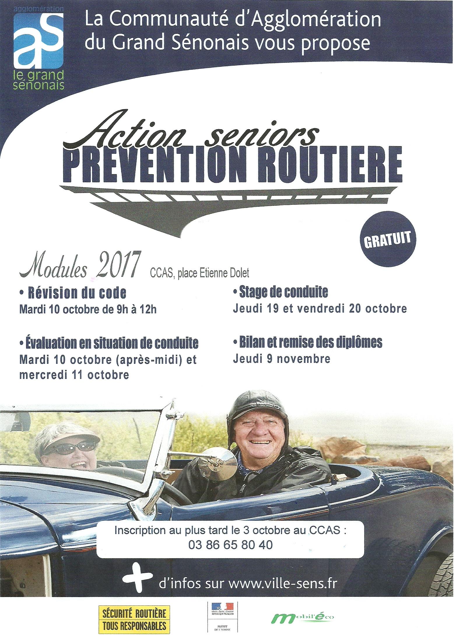Prévention routière Action Séniors