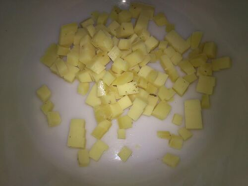 de Retour...avec une tortilla au four aux légumes et fromage