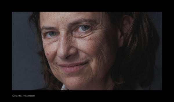 Chantal Akerman, portrait, Point to Point