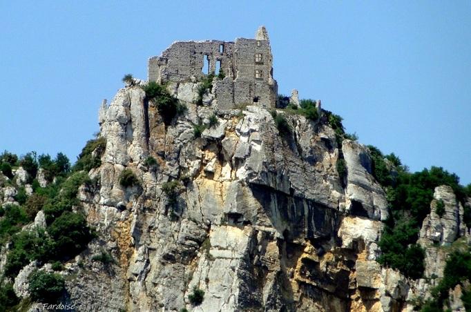 Le château de Crussol, tout simplement