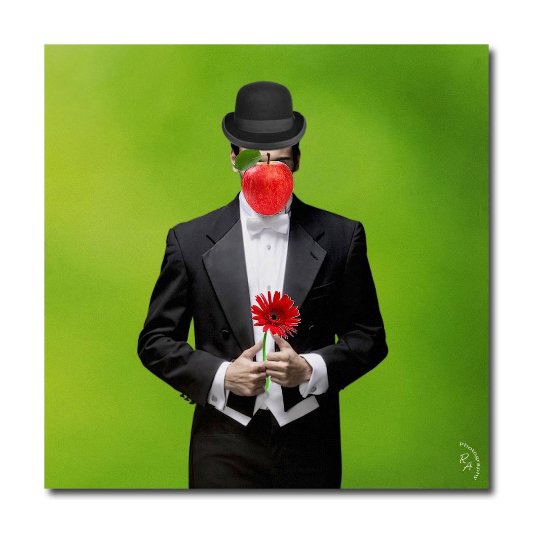 L'homme à la pomme