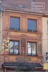 * Haut-Rhin * trompe l'oeil maison pâtissier chocolatier à Soultz