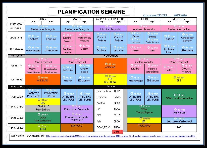 Beliebt OUTILS pour la classe semaine à 4,5 jours: agenda-cahier journal  GP31