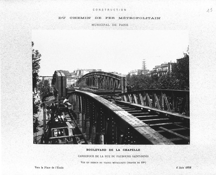 le pont Saint-Ange le 6 juin 1902