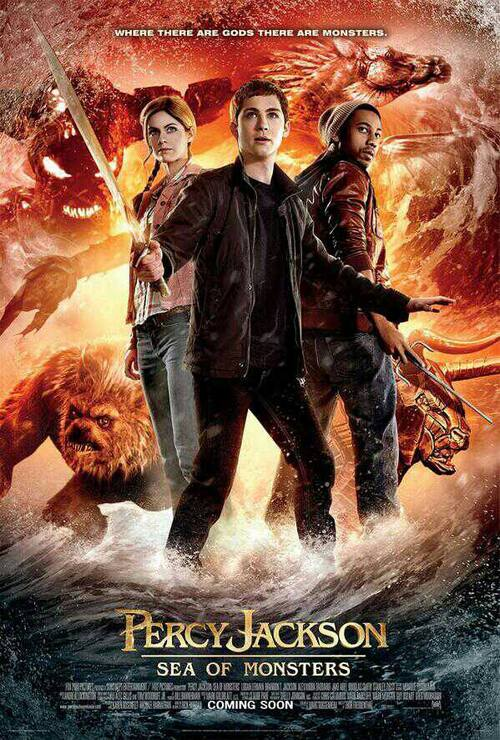 Percy Jackson 2 : Affiches