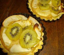 Tartelette kiwi-pomme