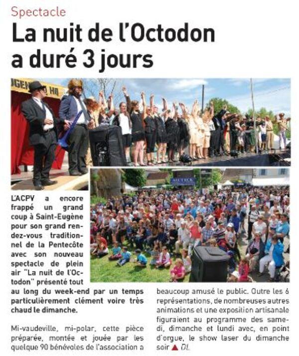 """Article """"Autant en emporte la Marne""""..."""