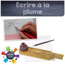 Prête-moi ta plume pour écrire un mot