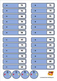 Atelier ranger des nombres