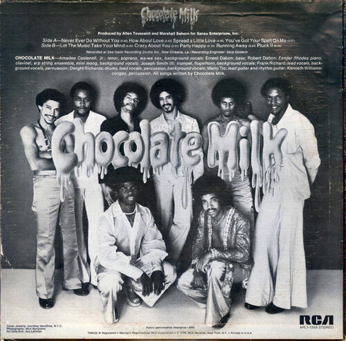 "Chocolate Milk : Album "" Chocolate Milk "" RCA Victor Records APL1-1399 [ US ]"
