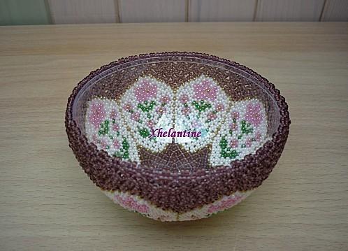 coupelle fleurs violet 2
