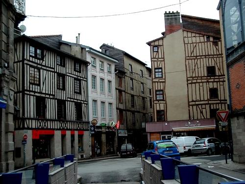 Limousin : Au cœur de Limoges le quartier de la Motte