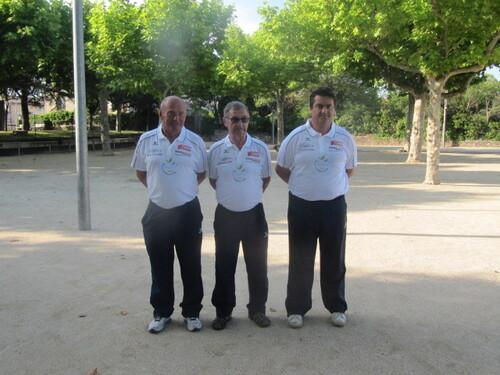 Réception des Joueurs qualifiés aux divers Championnat de FRANCE