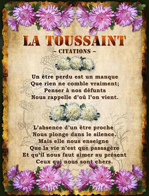 Carte pour la Toussaint (Montage)