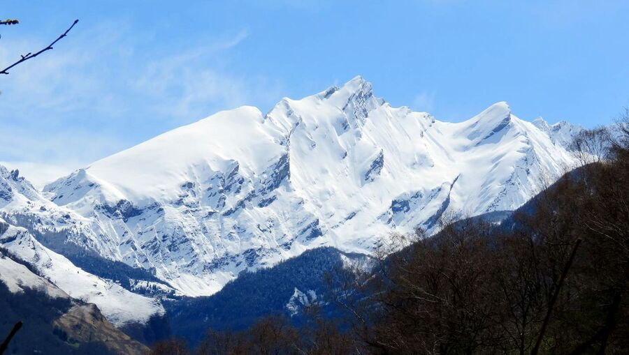 la neige à Laruns (64)
