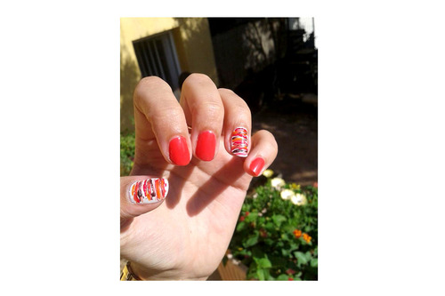 Nail Art du week end