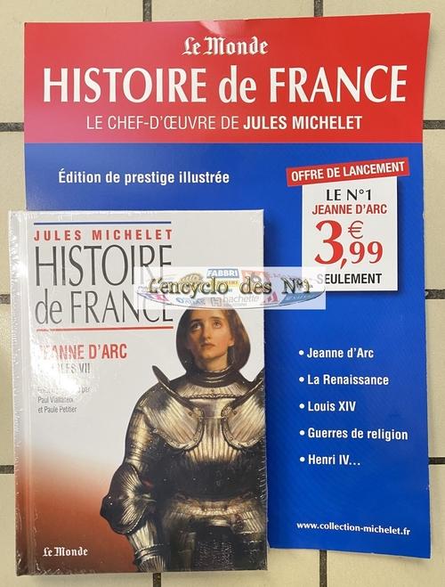 N° 1 Histoire de France - Lancement