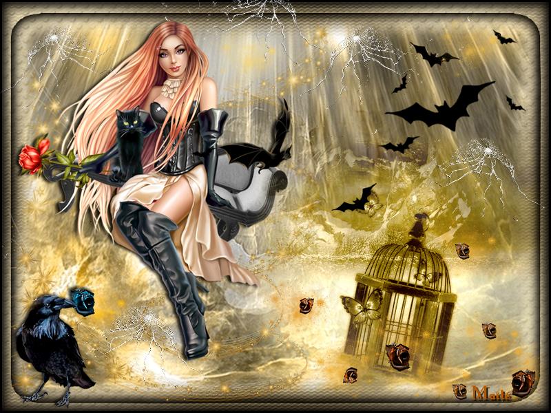 Eh oui!..c'est Halloween...