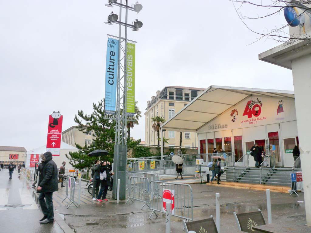 Le festival de la BD à Angoulême - Un régal !