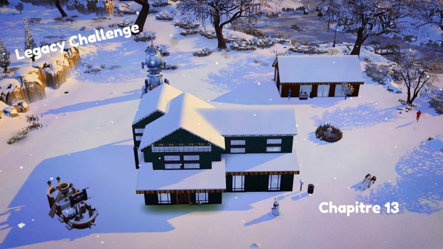 Legacy challenge- Chapitre 13