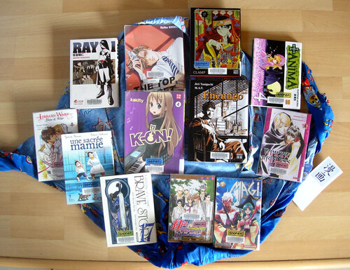 BD, mangas : livres de la BDIV