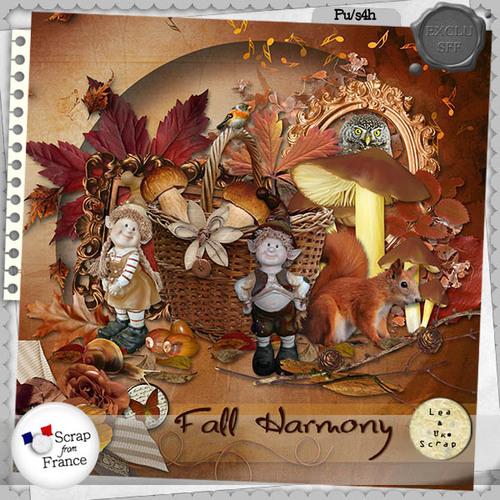 FALL HARMONY par LeaUgoScrap