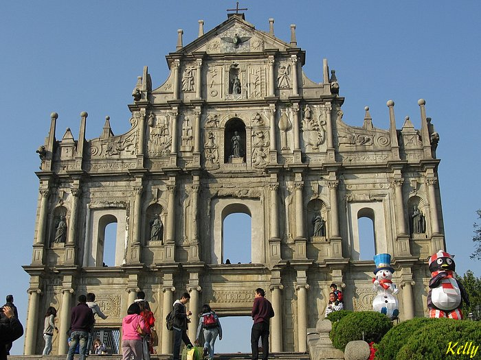 Macao: Ruines eglise Saint Paul