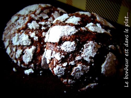Craquelés au chocolat