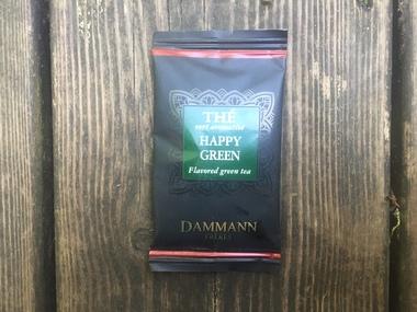 Le thé vert Happy Green de Dammann Frères