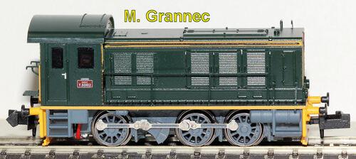 Hobbytrain/Hobby 66 - Locomoteur à 3 essieux ex V 36