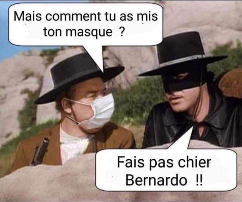 Le masque de Zorro... et de Bernardo - Art & Energie