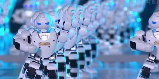 Robots danseurs