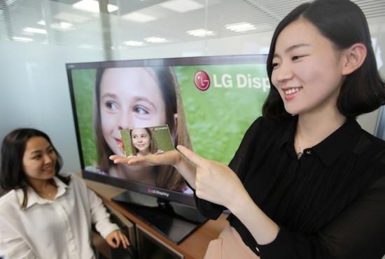 LG fait plus fort que la résolution de l'écran Rétina d'Apple.