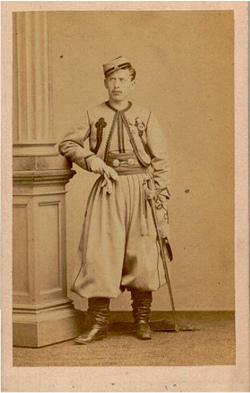 Ferdinand-Louis-Marie de Ferron de la Vairie, enfant de Saint-Solain