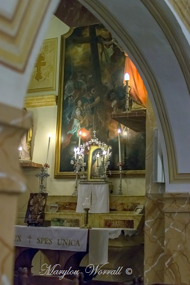 Corse : Bonifacio, Église Sainte Croix