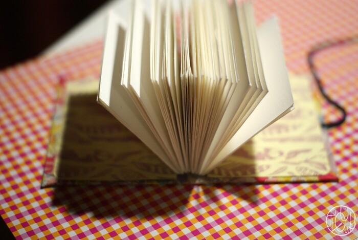 Préférence DIY - Fabriquer un livre avec une reliure - Dans ma petite roulotte TJ55